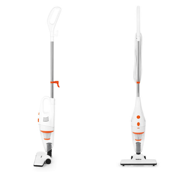 Beldray 2 in 1 Multifunctional Vacuum Cleaner, 1 Litre, 600 W, White and Orange Thumbnail 1