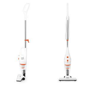 Beldray BEL0770 2 in 1 Multifunctional Vacuum Cleaner, 1 Litre, 600 W, White and Orange Thumbnail 1