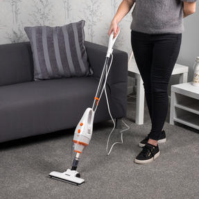 Beldray BEL0770 2 in 1 Multifunctional Vacuum Cleaner, 1 Litre, 600 W, White and Orange Thumbnail 2