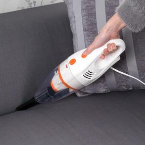 Beldray BEL0770 2 in 1 Multifunctional Vacuum Cleaner, 1 Litre, 600 W, White and Orange Thumbnail 3
