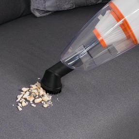 Beldray BEL0770 2 in 1 Multifunctional Vacuum Cleaner, 1 Litre, 600 W, White and Orange Thumbnail 4