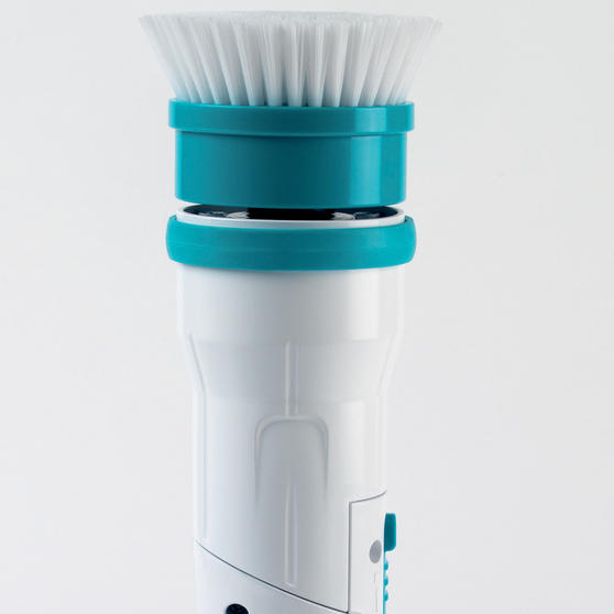 Beldray Extendable Cordless Scrubber Pro with Four Interchangeable Heads, 117 cm Thumbnail 2