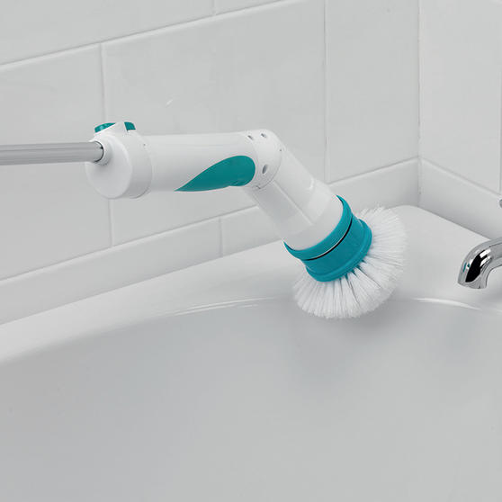Beldray Extendable Cordless Scrubber Pro with Four Interchangeable Heads, 117 cm Thumbnail 5