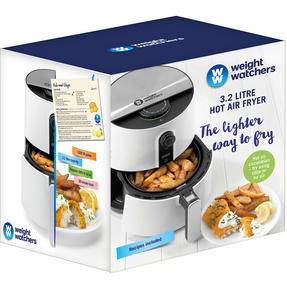 Weight Watchers EK2765WW Healthy Hot Air Fryer, 3.2 Litre, 1300 W, White Thumbnail 9