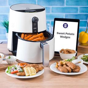 Weight Watchers EK2765WW Healthy Hot Air Fryer, 3.2 Litre, 1300 W, White Thumbnail 2