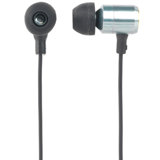 Intempo Alloy Metallic Cable Earphones, Green