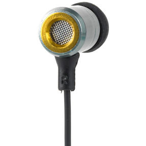 Intempo Alloy Metallic Cable Earphones, Green Thumbnail 2