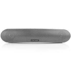 Intempo Curved Bluetooth Metallic Speaker, Silver Thumbnail 4