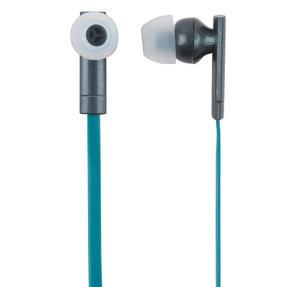 Intempo EE1738GRYGRNSTK Metallic Look Bluetooth Earphones, Grey/Green