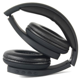 Intempo EE1178SBLKSTK Melody Folding Bluetooth Headphones, Black Thumbnail 3