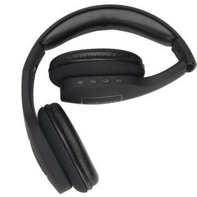 Intempo EE1178SBLKSTK Melody Folding Bluetooth Headphones, Black Thumbnail 4