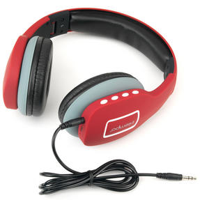 Intempo Melody Folding Bluetooth Headphones, Red Thumbnail 1