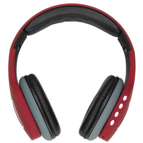 Intempo Melody Folding Bluetooth Headphones, Red Thumbnail 3