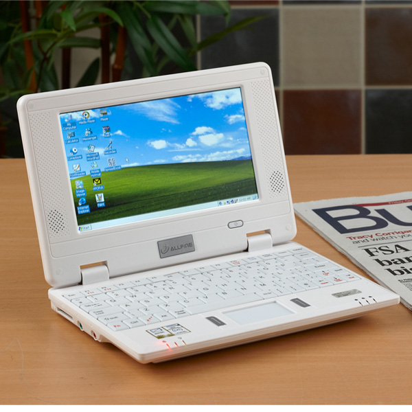 Allfine 703wh White 7 Inch Mini Netbook Laptop From