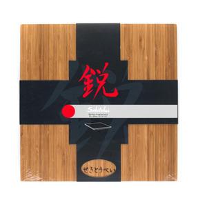 Sekitobei 3 Piece Japanese Santoku Stainless Steel Kitchen Knife Set and Bamboo Chopping Board Thumbnail 9