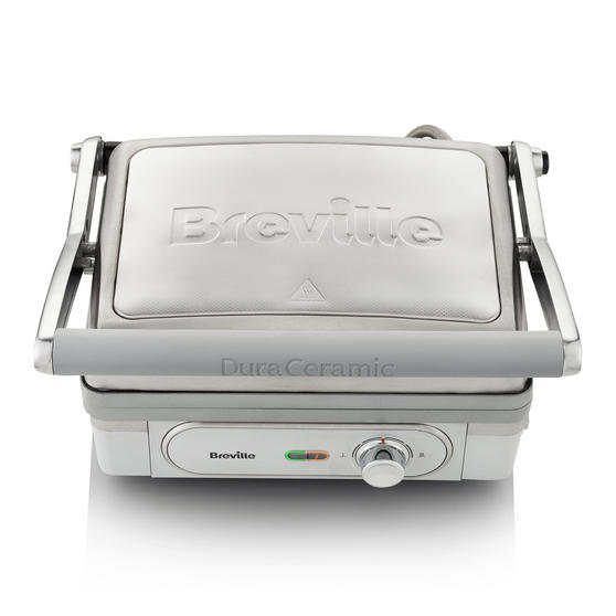 Breville VHG026 180-Degree Stainless Steel DuraCeramic Grill