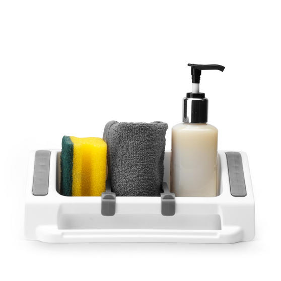 Beldray Plastic Wall Suction Storage Sink Caddy Thumbnail 3