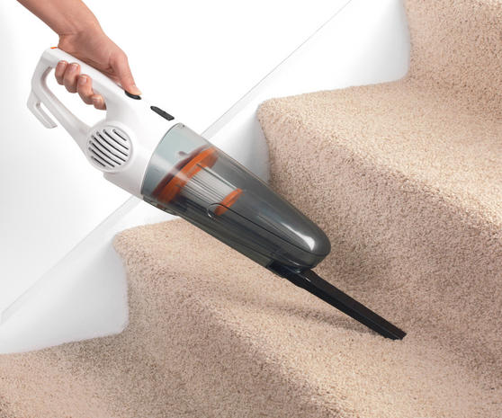 Beldray Multifunctional 2 in 1 Corded Stick Handheld Vacuum Cleaner, 600W, Orange/White Thumbnail 6
