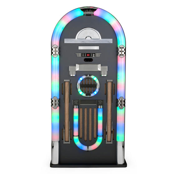 Intempo Wireless Extra Large Jukebox with CD Player and LED Flashing Lights