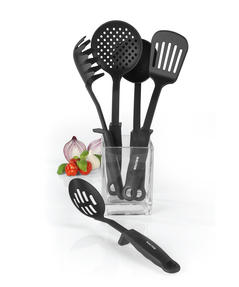 Salter Kitchen Nylon Tool Utensil Set with Built In Tool Rest, Salter 5 Piece Thumbnail 5