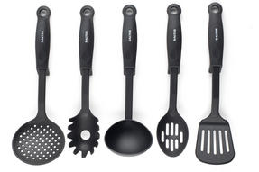 Salter Kitchen Nylon Tool Utensil Set with Built In Tool Rest, Salter 5 Piece Thumbnail 2