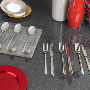 Russell Hobbs RH00022 Deluxe Vienna Stainless Steel 16 Piece Cutlery Set, 15 Year Guarantee Thumbnail 2
