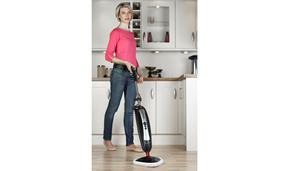 Hoover SSNC1700 SteamJet Natural Steam Mop for Hard Floors and Carpets, 650 ml, 1600 W Thumbnail 6