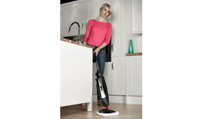 Hoover SSNC1700 SteamJet Natural Steam Mop for Hard Floors and Carpets, 650 ml, 1600 W Thumbnail 5