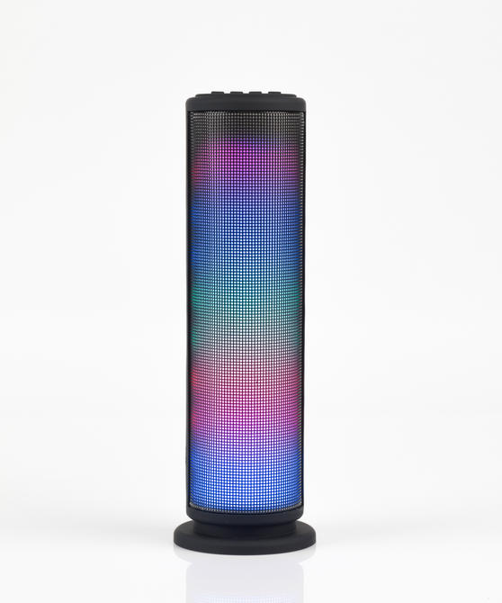 Intempo LED Light Tower Speaker, 3 W