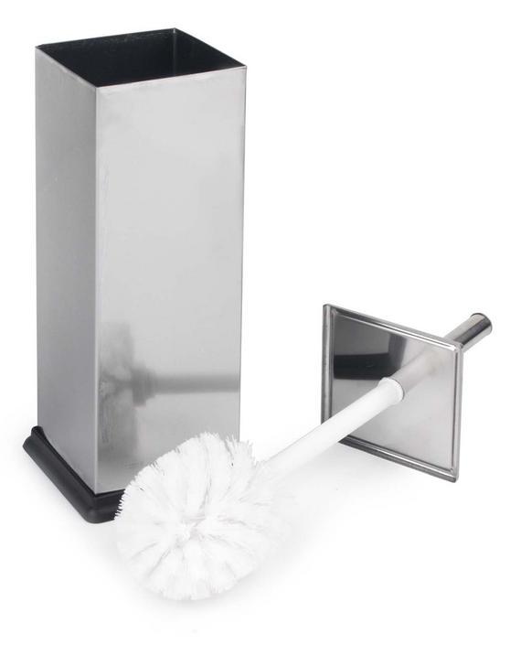Beldray Stainless Steel Toilet Brush Thumbnail 2