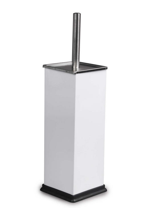 Beldray LA034038WH Stainless Steel Toilet Brush, White