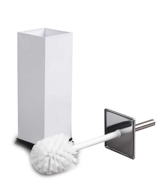 Beldray Stainless Steel Toilet Brush, White Thumbnail 3