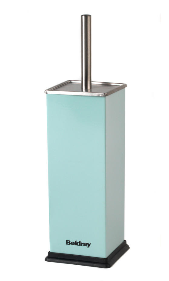 Beldray Stainless Steel Toilet Brush, Aqua