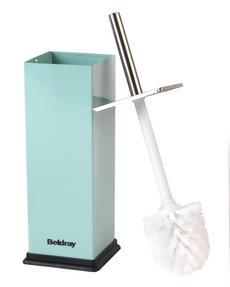 Beldray LA034038AQUA Stainless Steel Toilet Brush, Aqua Thumbnail 2