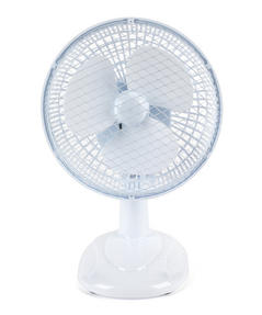 "Beldray EH2657STK 2 Speed Personal Desktop Fan, 6"", White  Thumbnail 1"