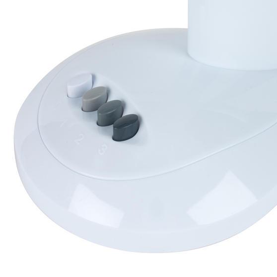 Beldray Oscillating Desktop Fan, 12-Inch, White Thumbnail 3