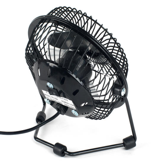 Beldray Mini USB Desktop Fan, 4-Inch, Black Thumbnail 3