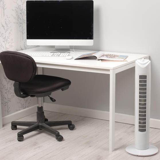 Beldray 29-Inch Tower Fan, White Thumbnail 2