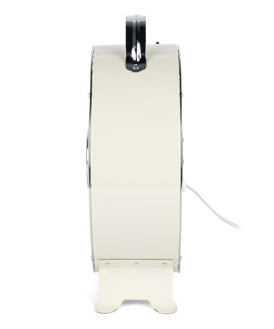 Beldray 8-Inch Desktop Clock Fan, Cream, 20 W Thumbnail 2