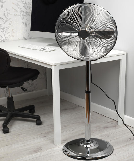 Beldray Height Adjustable Floor Standing Stainless Steel Fan Thumbnail 6