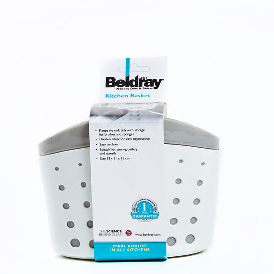 Beldray Kitchen Basket with 3 Compartments Thumbnail 4