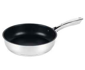 Russell Hobbs RH00154 Optimum Collection Non-Stick Stainless Steel Frying Pan, 24 cm