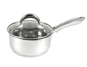 Russell Hobbs RH00159 Optimum Collection Stainless Steel Saucepan, 18 cm Thumbnail 1