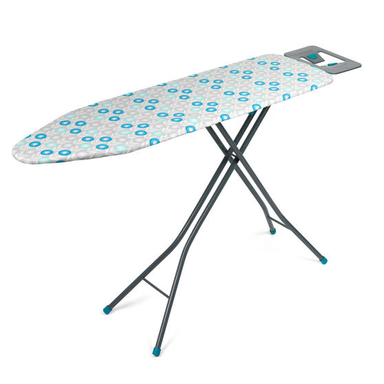 Beldray Retro Ironing Board, 137 x 38 cm, Floral Print, Blue Thumbnail 6