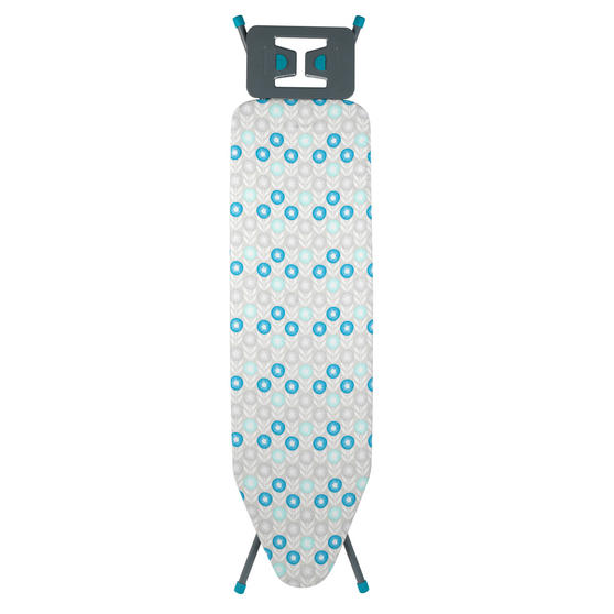 Beldray Retro Ironing Board, 137 x 38 cm, Floral Print, Blue Thumbnail 1