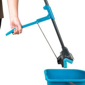 Beldray LA050915 Sponge Mop with Long Handle and Extra Sponge Head, Black/Blue Thumbnail 2
