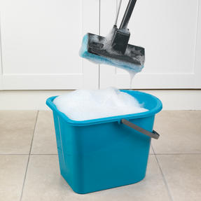 Beldray LA050915 Sponge Mop with Long Handle and Extra Sponge Head, Black/Blue Thumbnail 3