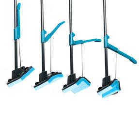 Beldray LA050915 Sponge Mop with Long Handle and Extra Sponge Head, Black/Blue Thumbnail 5