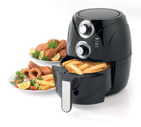 Salter Compact Healthy Air Fryer with 30 Minute Timer, 2 Litre, 1200 W Thumbnail 2