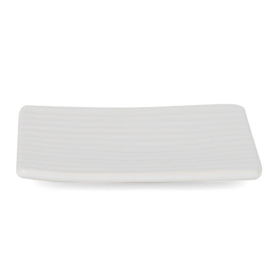 Beldray Dolomite Ceramic Bathroom Soap Dish, White Thumbnail 4